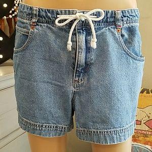 Vintage GAP JEANS Shorts Women's w/ Tie Size 6